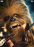 Topps Star Wars Card Trader Revenge of the Sith Portraits Chewbacca