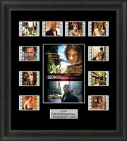 Leon the Professional Framed 35mm Film Cell Memorabilia Filmcells Movie Cell