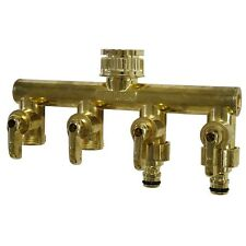 Holman 4 Way Metal Tap Outlet