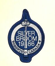 Curling Silver Broom Patch - 1986 Toronto Canada