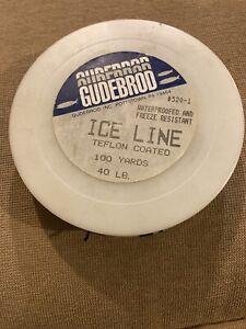 Gudebrod Teflon Coated Ice Line 40lb Waterproof Freeze Resistant