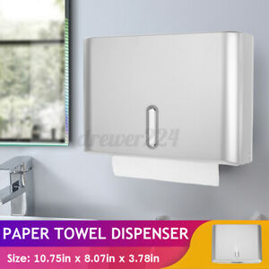 Wall Mounted Bathroom Toilet Paper Towel Dispenser Tissue Box Holder Accessories