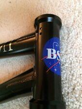 """BSD Raider V2 BMX Frame, 21"""" TT, Black, New"""