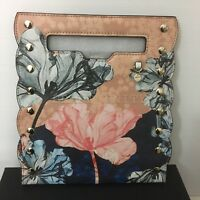 Mimco Imagineer PANEL POUCH MINI CLUTCH SNAP COVER BNWT RRP $199