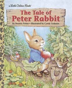 The Tale of Peter Rabbit by Beatrix Potter - Little Golden Book - hardcover new