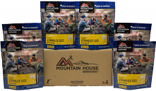 6- Mountain House Freeze Dried Food Pouches - Scrambled Eggs with Bacon