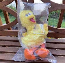 "Sesame Street Big Bird Plush Stuffed Plush Animal Toy Doll 14"" New in Bag w Tags"