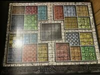 Heroquest Original Replacement Game Board Milton Bradley Vintage Parts