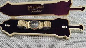 Vintage 1940s Lord Elgin 14k GFRoss  (Black Night) 21J Men's Watch All Original