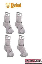 Cashel Crusader SET OF FOUR LEG GUARDS Cool Mesh Boots Fly Control Fits Yearling
