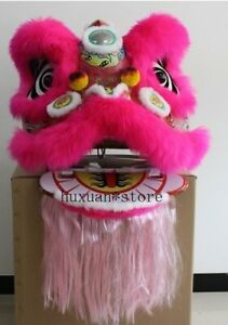 Just Lion Head Lion Dance Costume Chinese Traditional Lion Dance Mascot Classic