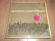 "CARTER FAMILY / UNCLE DAVID MACON / TANNER & PUCKETT "" AUTHENTIC COUNTRY MUSIC """