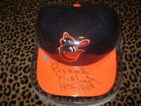 Brooks Robinson autographed Baltimore Orioles baseball cap with COA sticker&case