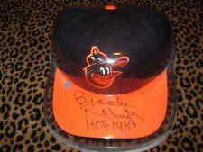 Brooks Robinson autographed Baltimore Orioles baseball cap with COA sticker&case