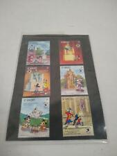 Mickey and Minnie Mouse St. Vincent Stamps