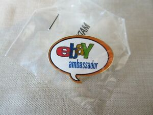 Rare New EBAY AMBASSADOR Pin Brand New Sealed Closed Program Teaching