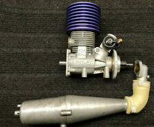 rc nitro engine kyosho gx-21 + muffler exhaust
