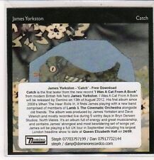 (DC414) James Yorkston, Catch - 2012 DJ CD