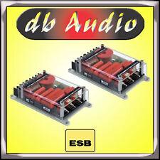 ESB Seimila 6000 6H-KX Coppia Crossover Xover Filtri Audio Passivi a 2 Vie Rosso
