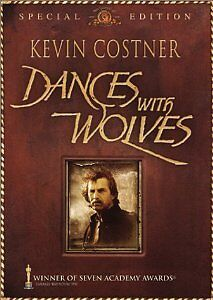 Brand New DVD Dances with Wolves - Extended Cut  Kevin Costner Mary McDonnel
