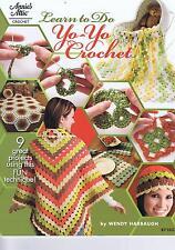 Apprendre à faire yo-yo crochet pattern book-instructions & 9 grands projets