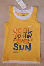 NWT Size 6 Gymboree TROPICAL BLOOM Yellow Soak Up The Sun Tank Top Shirt