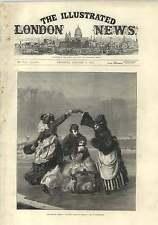 1875 Skating Season Charming Artwork By E Boutibonne