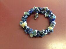 around bracelet Lapis wrap