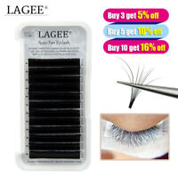 Lagee® Mink Easy Fanning Eyelash Extensions Fast Fanning Russian Volume Lashes