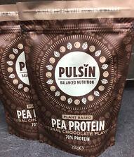 Pulsin Chocolate Pea Protein Powder 2 X 250g