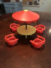 Fisher Price Picnic Table And 4 Chairs