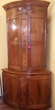 Beautiful & Large Corner Two Parts Walnut Solid 18th Century XIX ° Century