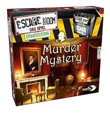 ESCAPE ROOM - MURDER MYSTERY Erweiterung - Noris 606101617 - NEU