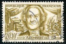 STAMP / TIMBRE FRANCE OBLITERE N° 1209 / CELEBRITE / JEAN D'ALEMBERT