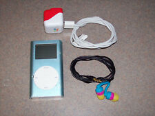 Apple iPod mini 1st Generation Blue (4 GB) now with (32GB) Size