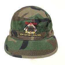 Vtg Snap On Tools Camo Hat 7 1/4 Ll15