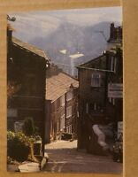 Postcard Unposted Yorkshire, Haworth, Main street