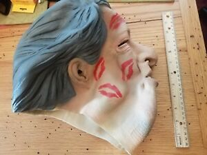 HARD TO FIND bill clinton RED LIPSTICK KISSED mask illusive concepts RARE TABOO!