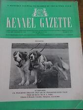 Kennel Club Gazette Mar 1961 St Bernards Crufts Dog Show Illustrated Real Photos