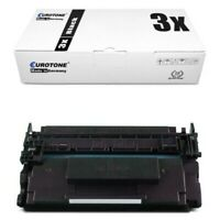 3x Eco Toner for Canon I-Sensys MF-522 X MF-525 Dw MF-525 X Approx. 10.000 Pages