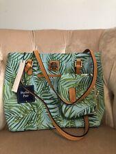 Dooney & Bourke Siesta Small Lexington Large Frame Purse Bag Handbag Set Leaves