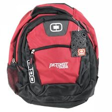 OGIO Backpack Laptop Organizer Travel Red PICTSWEET FARMS Embroidered NEW