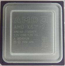 Processeur  AMD K 6 2 300 AFR Collection Old Cpu Vintage Testé OK