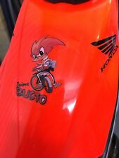 ORIGINAL - Rare JAMIE BUSTO REPSOL MONTESA 4RT TANK OR HELMET DECAL/STICKER
