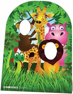 JUNGLE STAND IN 1.2m Kids Party Decoration Stand Up Cardboard Cutout