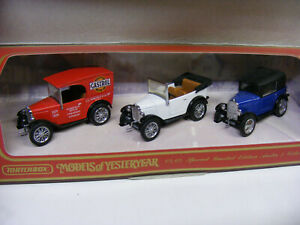 Matchbox Models Of Yesteryear YS65 Austin 7 Collection Rosengarl BMW Dixie