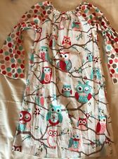 Lolly Wolly Doodle Girls Dress - Size 8 - Owl Print