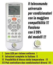 Telecomando universale per condizionatori compatibile con il 99% delle marche