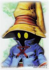 Final Fantasy 9 IX Art Museum Trading Card 7-11 Special Ed 1 S-16 Vivi Portrait