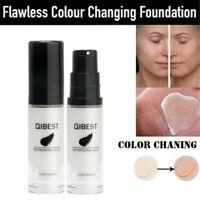 Flawless Color Changing Liquid Foundation Face Makeup Concealer Oil Control Base